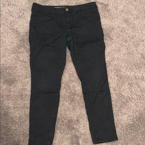 American Eagle black skinny jeans size 14